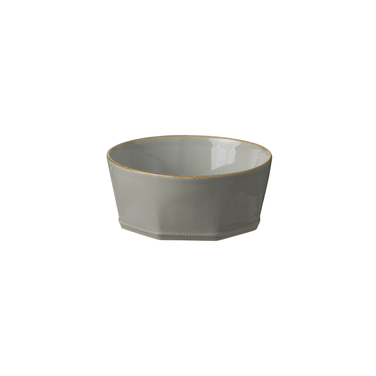 Bowl octogonal gris